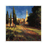 Pathway to the Villa Impressão giclée por Philip Craig