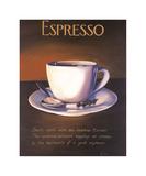 Urban Espresso Giclee Print by Paul Kenton