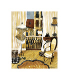 French Boudoir I Giclee Print by Krista Sewell