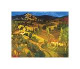 Provencal Landscape Impressão giclée por Philip Craig