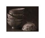Rice Bowls Giclee-trykk av Heather Jacks