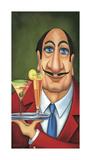 Sirio the Waiter Giclée-Druck von Will Rafuse