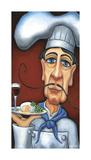 Jaques the Chef Giclée-Druck von Will Rafuse