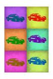 Porsche Pop Art 2 Foto von  NaxArt