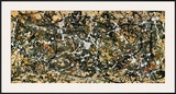 Number 8, 1949 Prints by Jackson Pollock