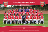 Arsenal - Team 13/14 Posters