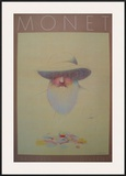 Homage a Monet Print by Milton Glaser