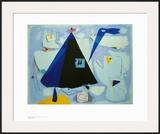 The Black Tent Arte por Willi Baumeister