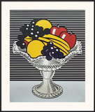 Still Life with Crystal Bowl Prints by Roy Lichtenstein