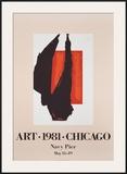Art Chicago Pôsters por Robert Motherwell