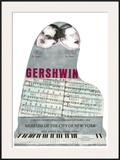 Gershwin Poster por Larry Rivers