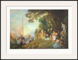 The Embarkation for Cythera Posters by Antoine Watteau