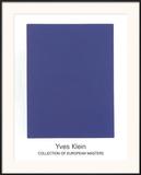 IKB65, 1960 Posters by Yves Klein