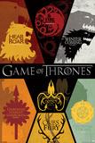 Game of Thrones - Sigils Affiches