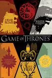 Game of Thrones - Sigils Print