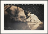 Girl with Elephant Prints by Gregory Colbert