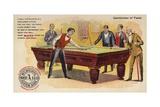 Gentlemen of Taste, Playing Pool Gicléedruk van  American School