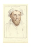 Edward Stanley, Earl of Derby Giclee Print by Hans Holbein the Younger