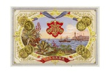 Cuban Cigar Box Label Giclée-Druck