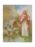 The Good Shepherd Lámina giclée