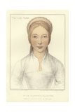 Elizabeth, Lady Parker Giclee Print by Hans Holbein the Younger