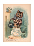 Louis Wain Cats Reproduction procédé giclée par Louis Wain