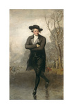 The Skater (Portrait of William Grant), 1782 Giclee Print by Gilbert Stuart