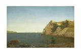 Beacon Rock, Newport Harbour, 1857 Giclee Print by John Frederick Kensett