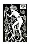 Hermaphrodite Amongst the Roses from Le Morte D'Arthur by Sir Thomas Malory, 1894 Reproduction procédé giclée par Aubrey Beardsley