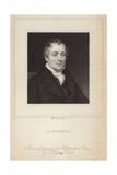 Portrait of David Ricardo Giclee Print by Thomas Phillips