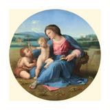 The Alba Madonna, C. 1510 Reproduction procédé giclée par  Raphael