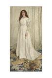 Symphony in White, No. 1: the White Girl, 1862 Reproduction procédé giclée par James Abbott McNeill Whistler
