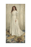 Symphony in White, No. 1: the White Girl, 1862 Gicléedruk van James Abbott McNeill Whistler