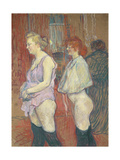 Rue Des Moulins, 1894 Lámina giclée por Henri de Toulouse-Lautrec
