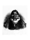 Pot-De-Naz, Caricature from 'Le Charivari', May 2, 1833 Reproduction procédé giclée par Honore Daumier