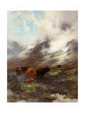 The Head of the Glen, 1894 Stampa giclée di Peter Graham