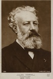 Jules Verne (1828-1905), French Novelist Photographic Print