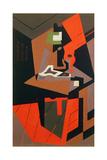 Komposition Giclée-tryk af Juan Gris