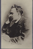Friedrich Nietzche (1844-1900), German Philosopher and Writer Reproduction photographique
