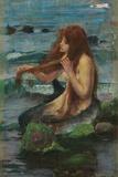 The Mermaid, 1892 Reproduction procédé giclée par John William Waterhouse