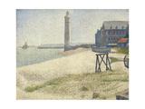 The Lighthouse at Honfleur, 1886 Reproduction procédé giclée par Georges Seurat
