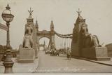 Hammersmith Bridge, London Reproduction photographique