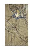 Profile of Woman: Jane Avril; Profil De Femme: Jane Avril, 1893 Lámina giclée por Henri de Toulouse-Lautrec