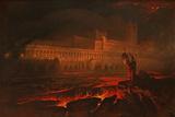 Pandemonium, 1841 Giclée-tryk af John Martin