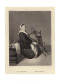 The Spinner Giclee Print by Caspar Netscher