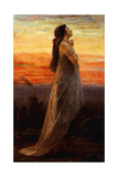 The Lament of Jephthah's Daughter, 1871 Giclee Print by George Elgar Hicks
