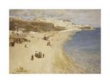 Tangier, the White City, 1893 Gicléetryck av Sir John Lavery
