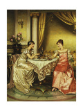 Tete a Tete Giclee Print by Joseph Frederic Soulacroix