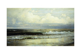 Sunlit Clouds and Sea, 1897 Giclee Print by William Trost Richards