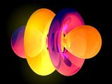 4fz3 Electron Orbital Fotografisk tryk af Laguna Design